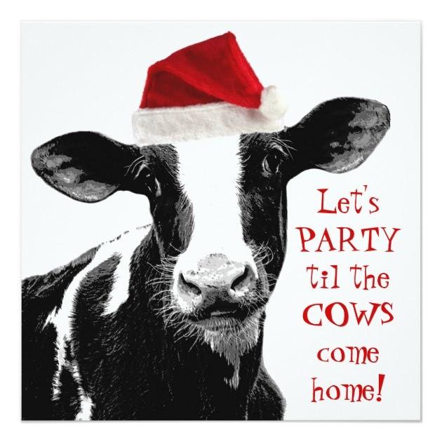 christmas-cow